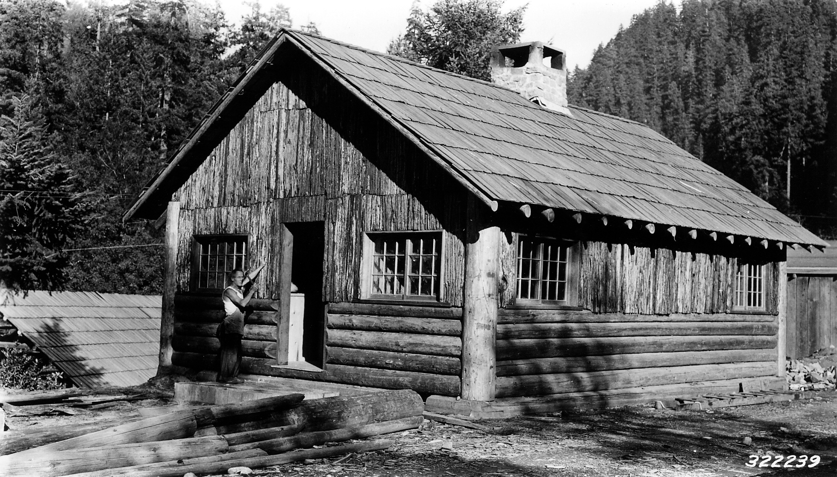 Old Cabin historic photo
