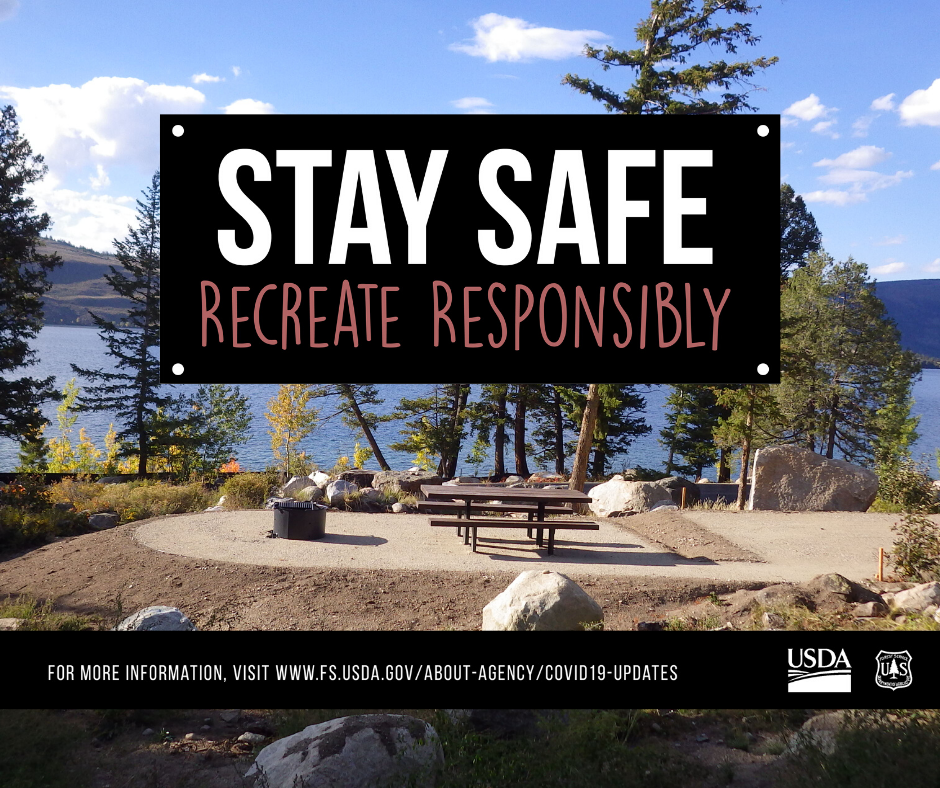 Logo for stay safe recreate responsibly