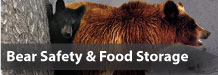 Bear Safety and Food Storage Information