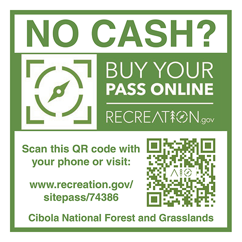 Buy your pass online at recreation dot gov.
