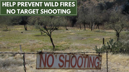 Prevent Wild Fire - No Target Shooting