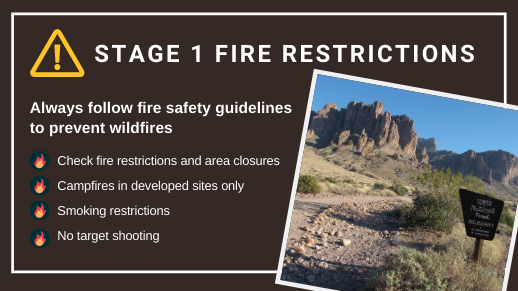 Stage I Fire Restrictions
