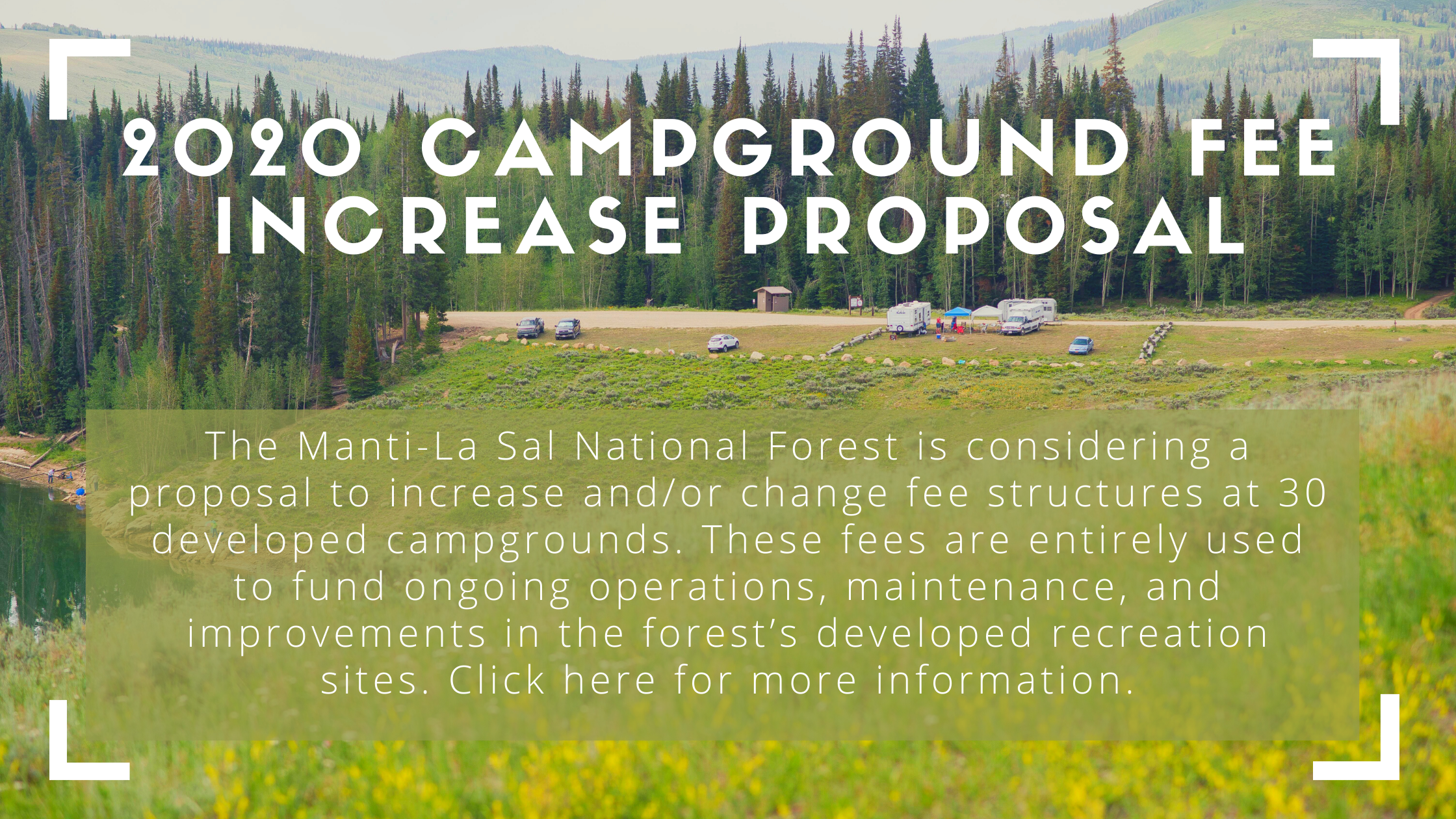 Campground Fee Change Proposal