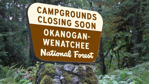Campgrounds closing soon