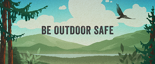 Be Outdoor Safe banner