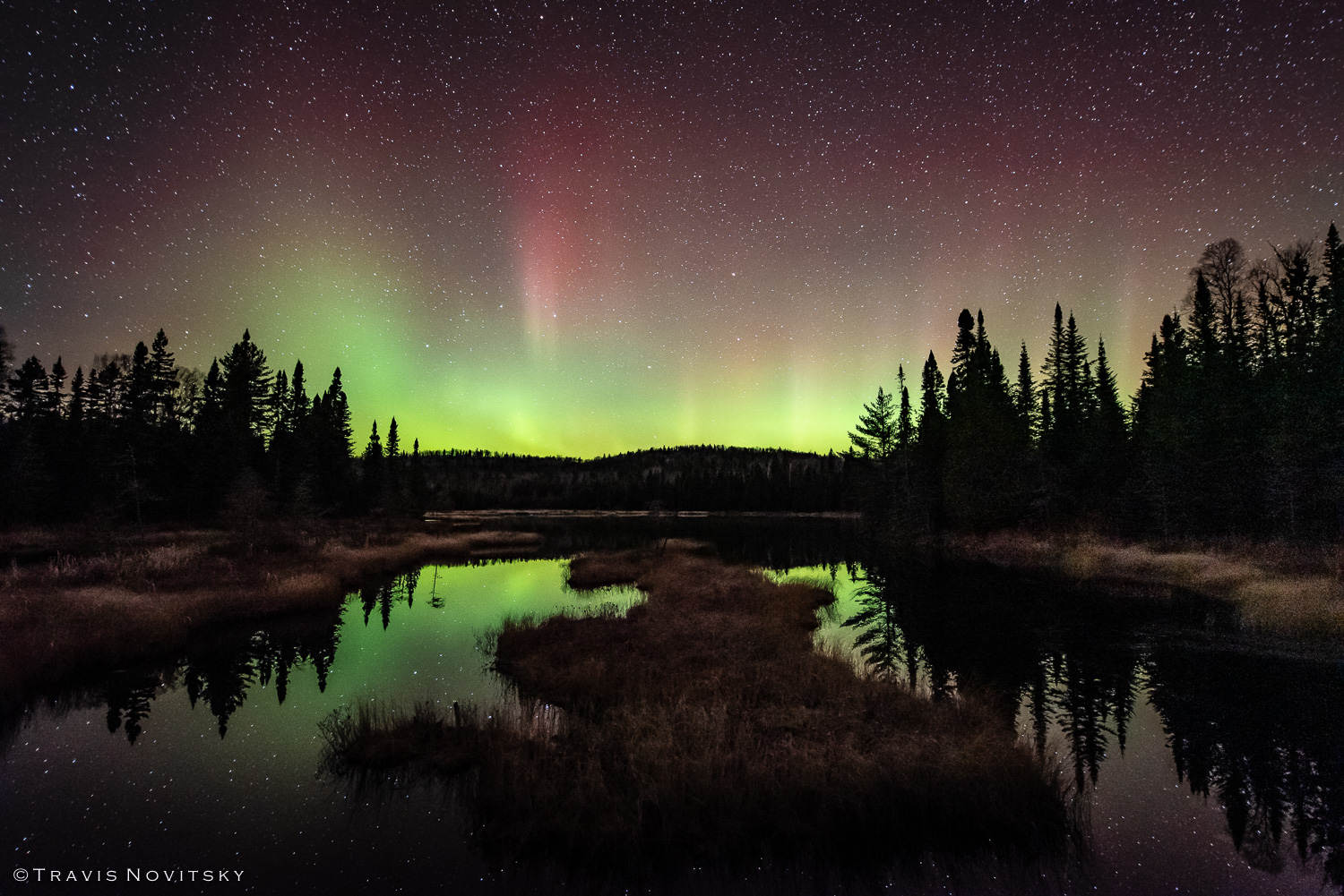 Aurora photo by Travis Novitsky