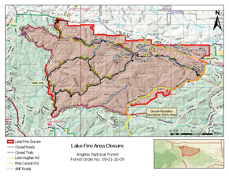 05-01-20-09 Lake Fire Closure - Map