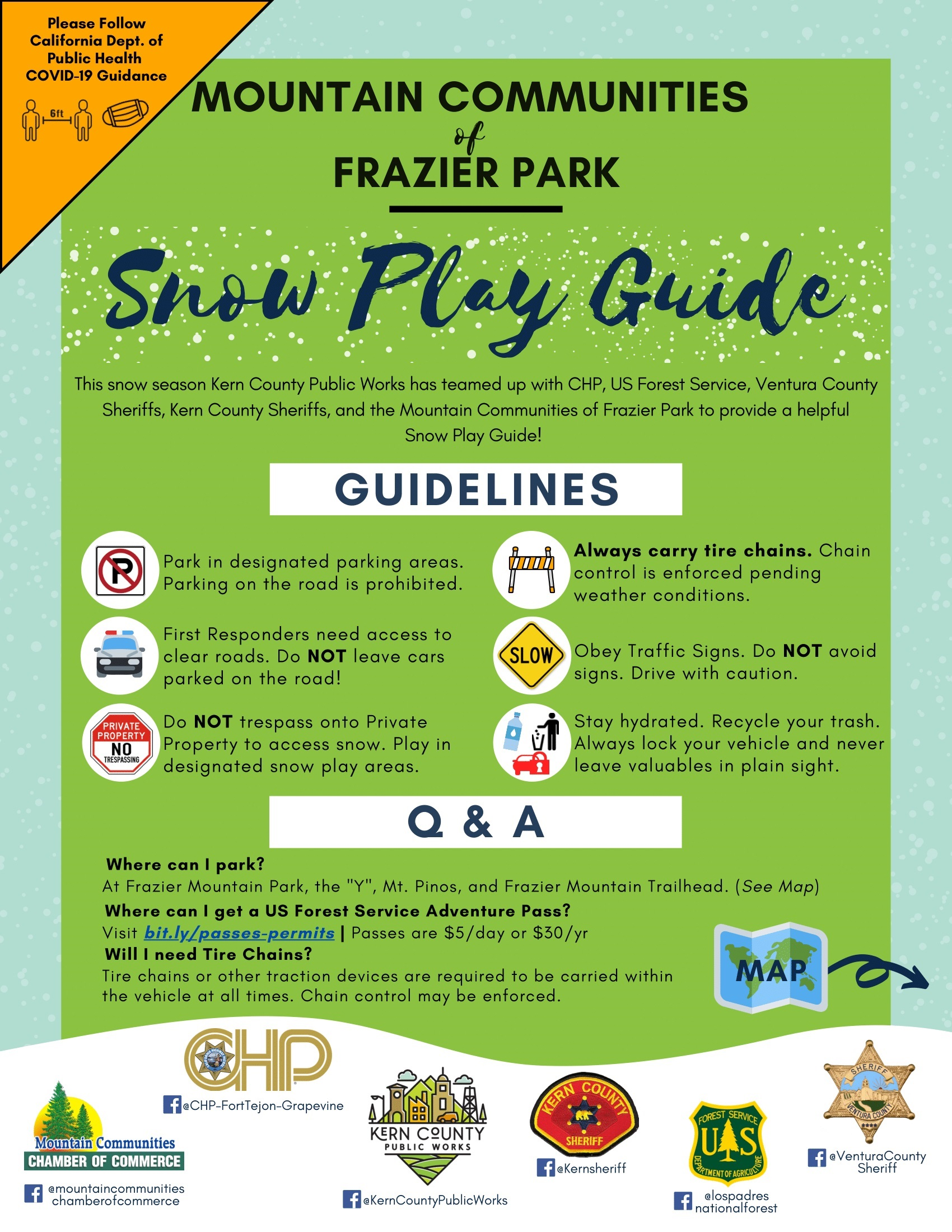 Snow Play Flyer 2020