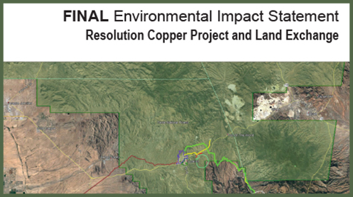 Final EIS Resolution Copper Project Tonto