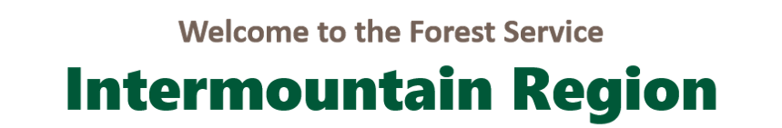 Welcome to the US Forest Service Intermountain Region