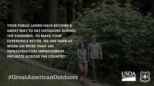 Great American Outdoors Act information.