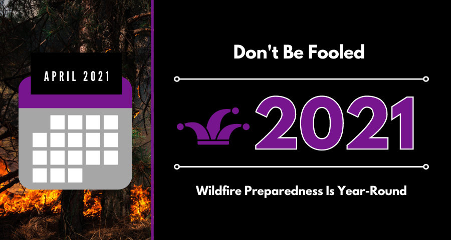 April Luck wildfire preparedness