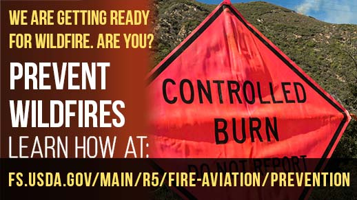 Prevent Wildfires. We are getting ready for wildfire, are you?