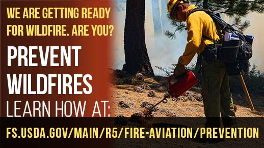 Prevent Wildfire Month
