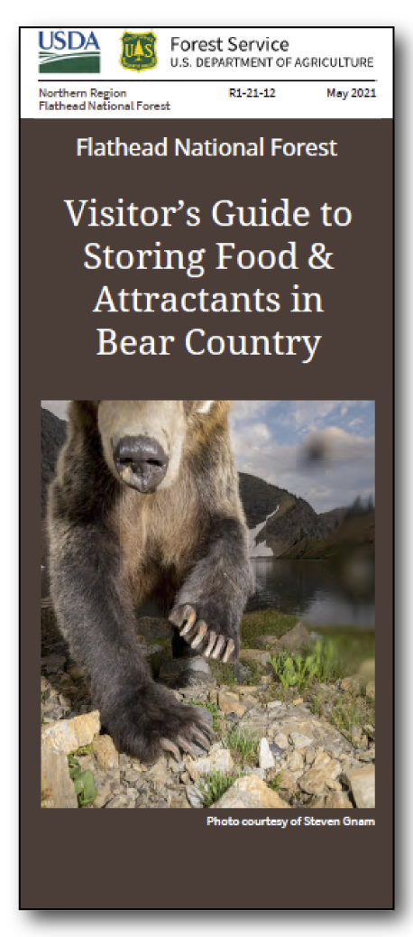 Storing Food and Attractants in Bear Country