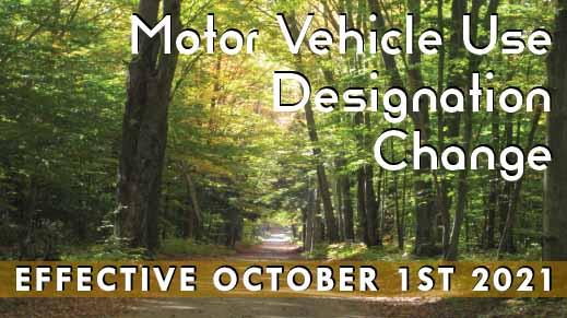 Motor Vehicle use Designation Change