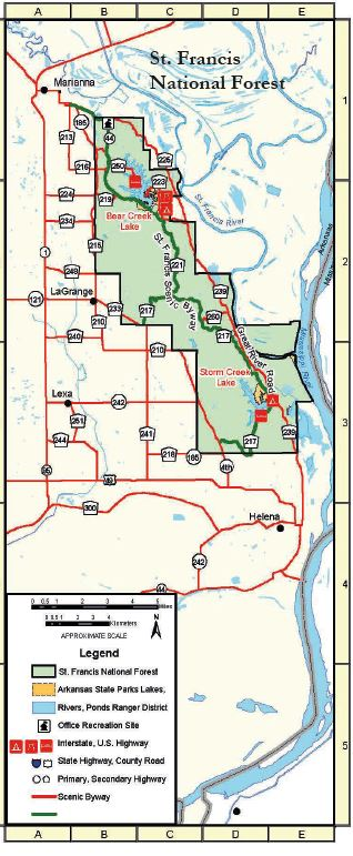 Ozark-St. Francis National Forests - Maps & Publications