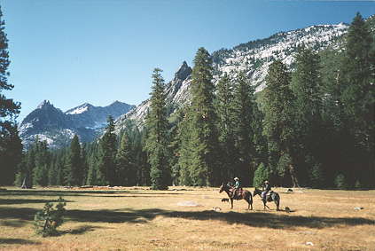 [Photo]: Caribou Meadow in Trinity Alps Wilderness