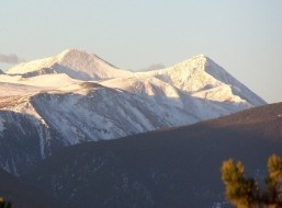 Grays and Torreys Peaks by Brant Wobig