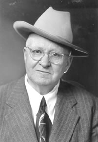 Photo of William Anderson taken in the fall of 1952.
