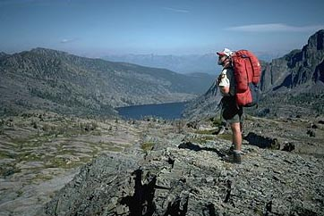 Backpacking in the Mission Mtns Wilderness