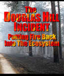 Scan of the cover of the Douglas Hill Incident fire video.