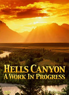Scan of cover for video Hells Canyon.