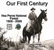 Scan of the cover of the video The First Century -- Nez Perce National Forest.