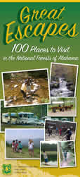 Great Escapes 100 Places to visit on the National Forests in Alabama