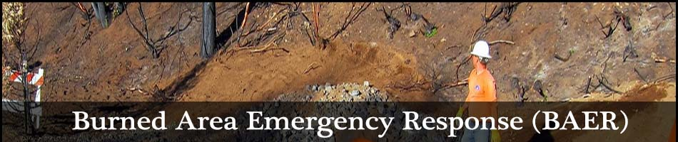 Burnded Area Emergency Response