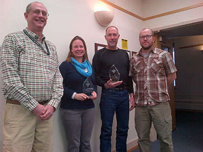 Lolo Employees Receive Weed Prevention Award