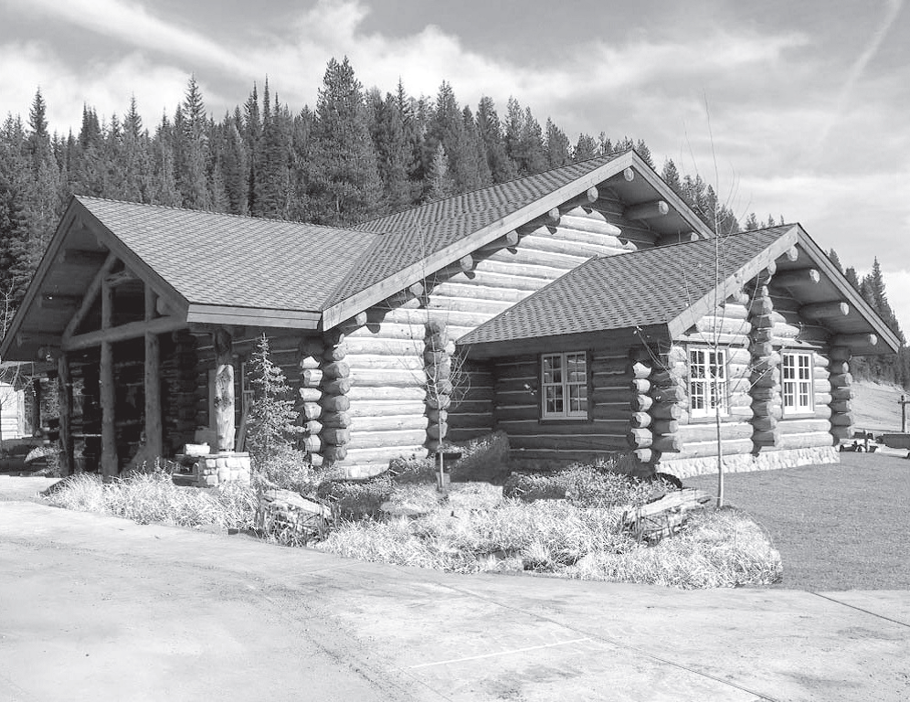 Photo showing the Visitor Center building at Lolo
