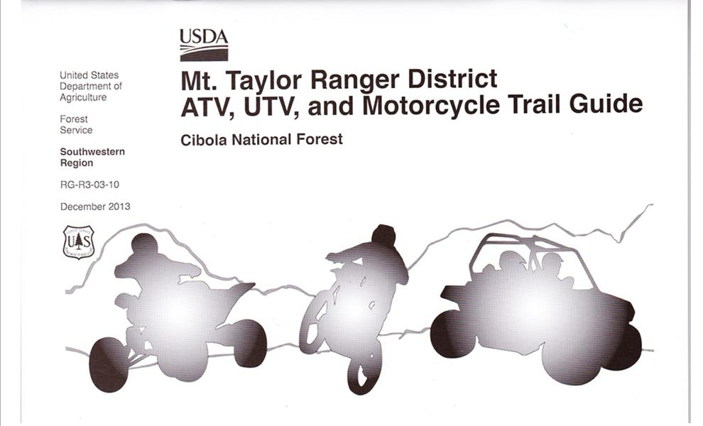 Picture of Mt. Taylor ATV, UTV and Motorcycle Trail Guide