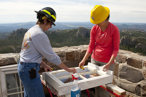 Harney Peak Restoration Project