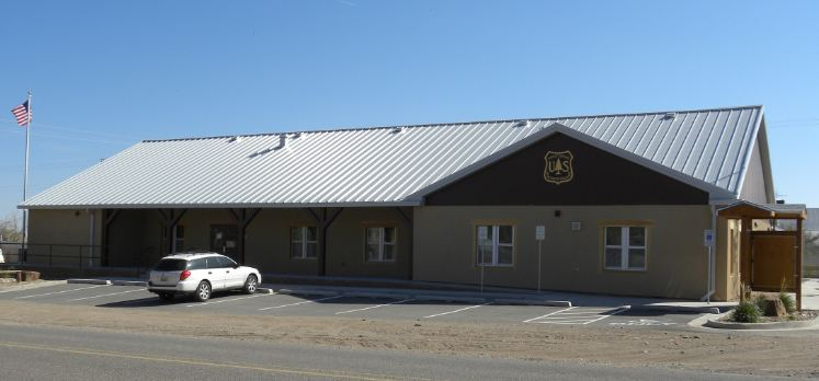Picture of the new Magdalena Ranger District Office