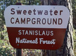 Sweetwater Campground Sign