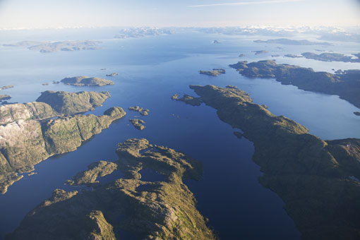 Prince William Sound from the Air