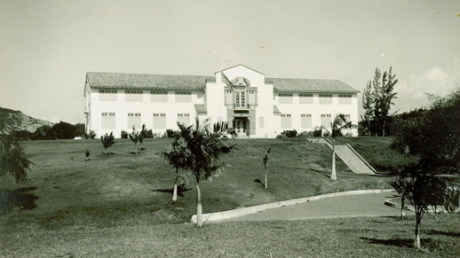 the institute building in the 1940s