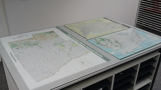 Public Lands Information Center Map Displays