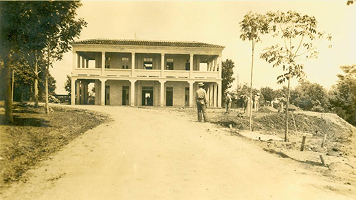 forest service hq building in 1937