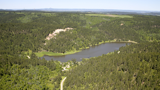 Cook Lake Aerial Photo