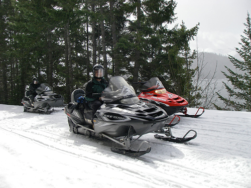 Forest Service - snowmobiling