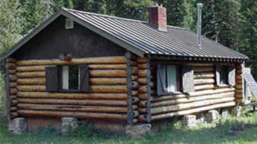 helena lewis and clark national forest crystal lake cabin