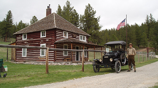 Judith River Ranger Station