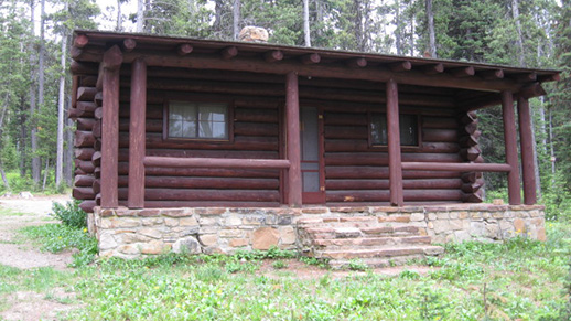 Kings Hill Cabin in Summer