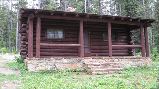 ... Kings Hill Cabin In Summer ...