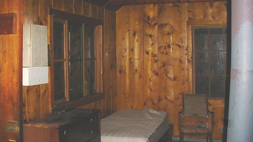 West Fork Teton Cabin Interior