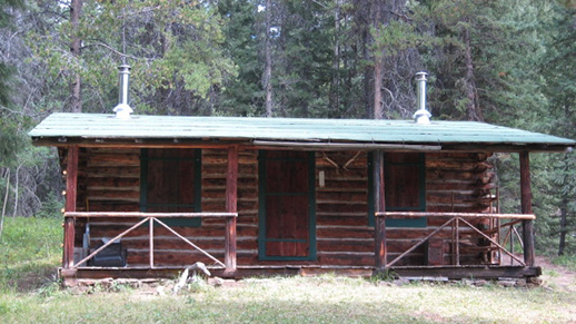 Kenck Cabin, after historic restoration