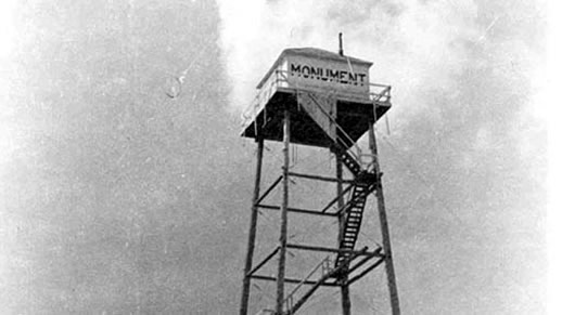 Monument Peak Lookout, 1936