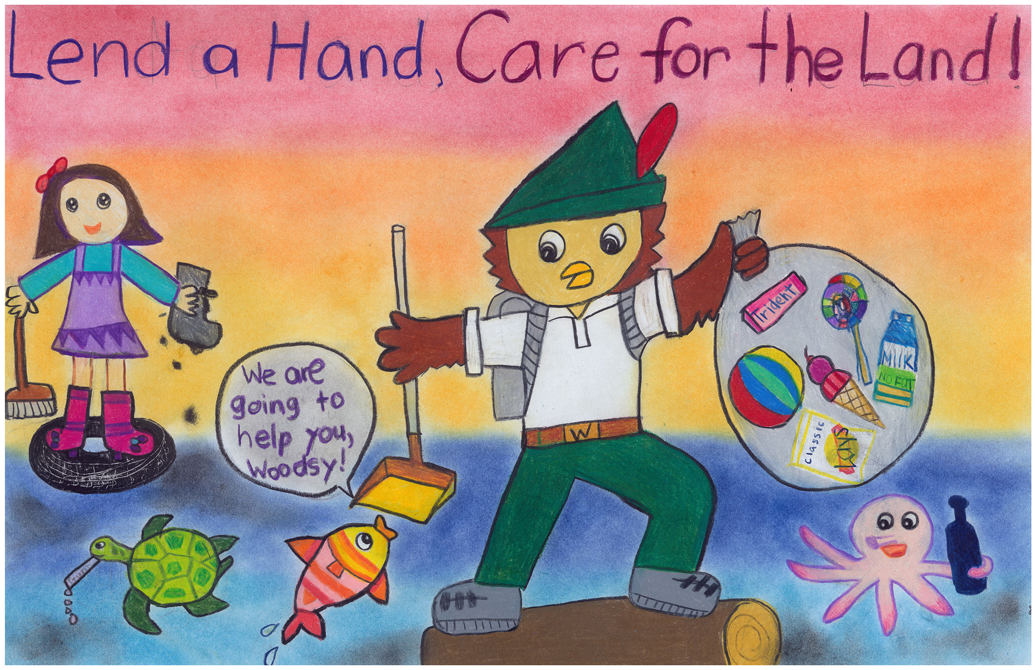 National Garden Club Poster Contest Entry